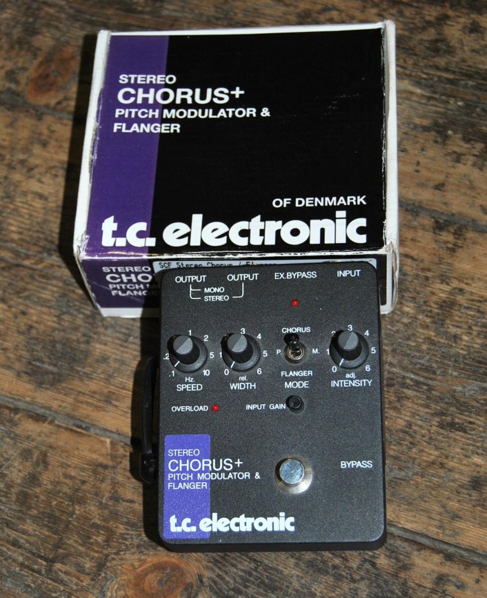 tc electronic scf stereo chorus flanger d 39 occasion tc electronic. Black Bedroom Furniture Sets. Home Design Ideas